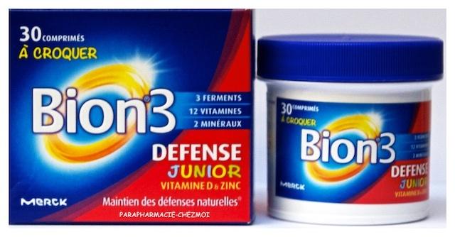 Bion 3 Juniors Defense Parapharmacie Chez Moi