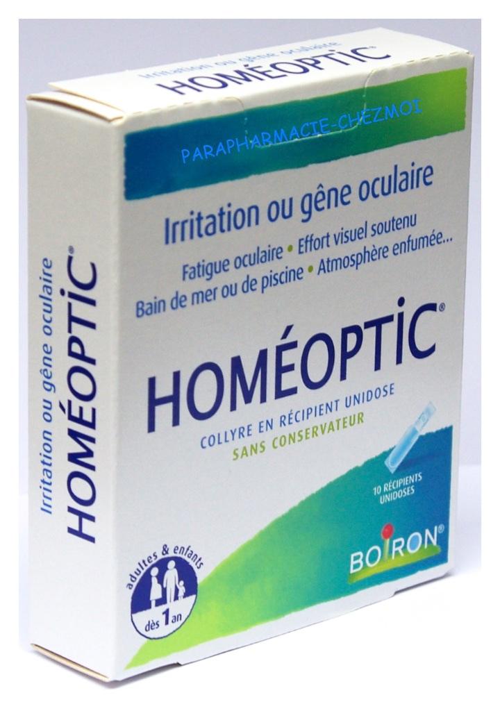 fatigue oculaire homéopathie
